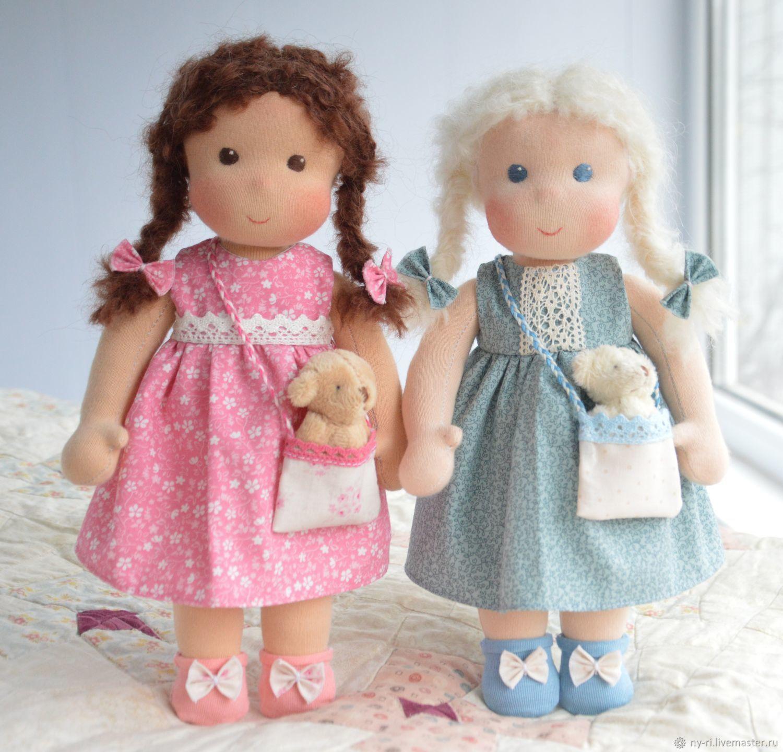 Вальдорфские куклы с Мишками, Игрушки, Таруса, Фото №1