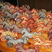 Мягкие игрушки ручной работы. Ярмарка Мастеров - ручная работа Конь деревянный. Handmade.