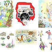 Дизайн и реклама ручной работы. Ярмарка Мастеров - ручная работа Иллюстрации цветные. Handmade.
