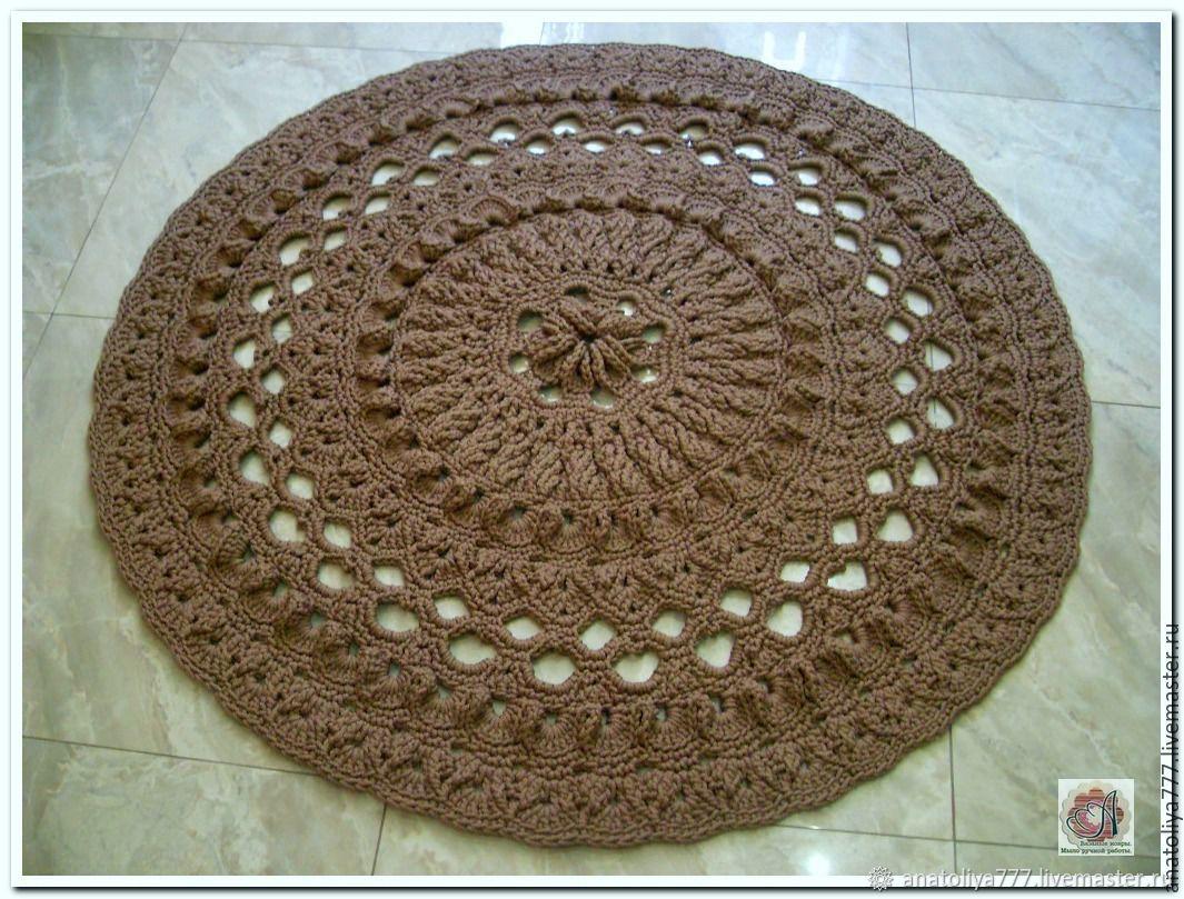 Вязаные ковры из полиэфирного шнура на заказ цена крафтовые пакеты купить оптом в москве