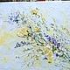 рельефная картина, фактурная картина, цветы мастихином, рисунок с цветами, голубой, небесный www.livemaster.ru/marinamatkina/contact