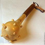 Куклы и игрушки ручной работы. Ярмарка Мастеров - ручная работа Булава детская деревянная. Handmade.