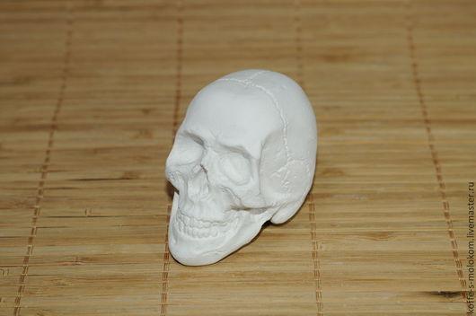Материалы для косметики ручной работы. Ярмарка Мастеров - ручная работа. Купить Силиконовая форма для мыла Череп 3D. Handmade.
