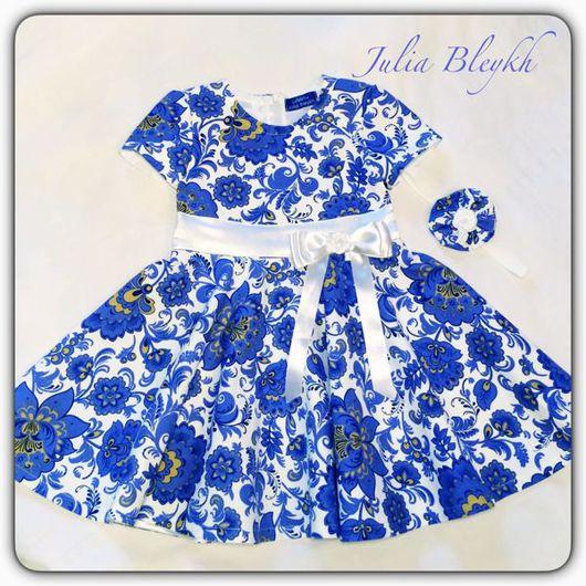 Одежда для девочек, ручной работы. Ярмарка Мастеров - ручная работа. Купить Платье для принцессы. Handmade. Ярко-красный, пышное платье