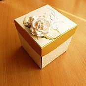Открытки ручной работы. Ярмарка Мастеров - ручная работа дарим деньги красиво. золотой magic box. Handmade.