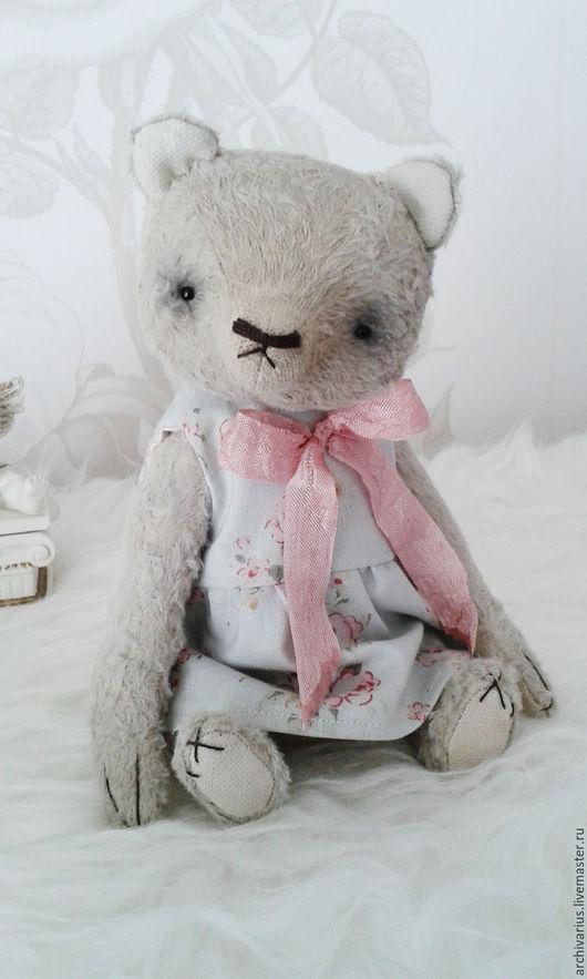 Мишки Тедди ручной работы. Ярмарка Мастеров - ручная работа. Купить Luisa. Handmade. Кремовый, тортюр, розы, немецкая вискоза