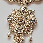 Украшения handmade. Livemaster - original item Dedication To St. Petersburg. Ball in the Winter Palace. Handmade.