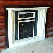 Для дома и интерьера handmade. Livemaster - original item Fireplace