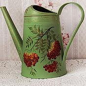 Цветы и флористика handmade. Livemaster - original item Watering can-painted watering houseplants