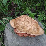Посуда handmade. Livemaster - original item Bowl, plate made Of birch Capa. Camping utensils, Ethno style. Handmade.