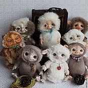 Куклы и игрушки ручной работы. Ярмарка Мастеров - ручная работа Монстрики -малыши. Handmade.