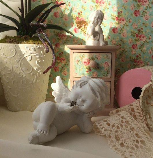 Мини-комоды ручной работы. Ярмарка Мастеров - ручная работа. Купить Мини комод. Handmade. Бледно-розовый, дерево
