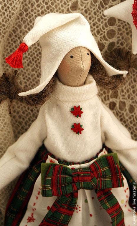 Куклы Тильды ручной работы. Ярмарка Мастеров - ручная работа. Купить Рождественская Сказка. Handmade. Интерьерная кукла, пряничные человечки