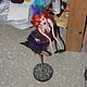 Коллекционные куклы ручной работы. Милашка  Сисиль. 'АняМаня'. Ярмарка Мастеров. Паперклей, микробисер