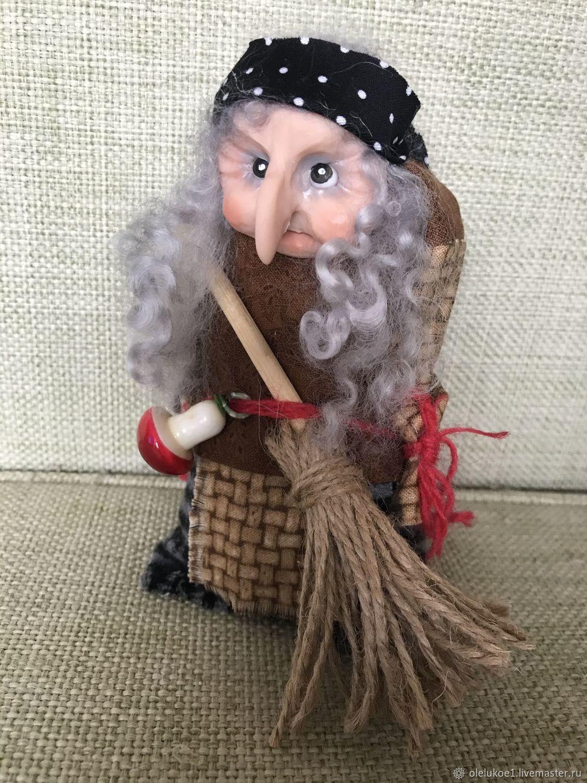 Баба Яга сувенир, Народная кукла, Москва,  Фото №1