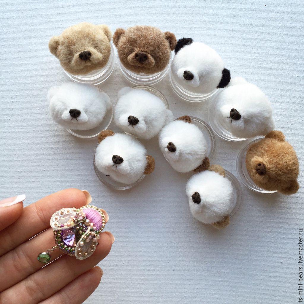 Мишки миниатюрные сшить своими руками 60