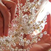 Свадебный салон ручной работы. Ярмарка Мастеров - ручная работа Алмазный гребень для принцессы-невесты. Handmade.