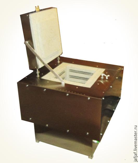 Другие виды рукоделия ручной работы. Ярмарка Мастеров - ручная работа. Купить Муфельная печь 12л, до 1300 гр. шахтного типа. Handmade.