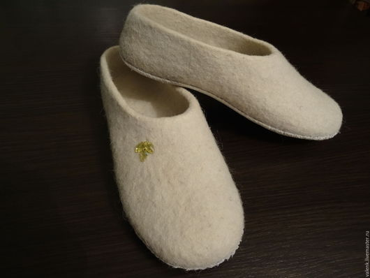 Обувь ручной работы. Ярмарка Мастеров - ручная работа. Купить Тапочки валяные. Handmade. Разноцветный, тапочки домашние, тапочки из шерсти