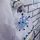 Сказочные персонажи ручной работы. АНГЕЛ РОЖДЕСТВА. ГЛИНАЮРЬНА (VOOBRAGALIYA). Ярмарка Мастеров. Экслюзив, хлопок американский, бисер японский