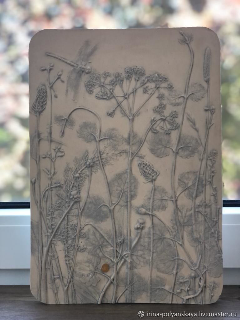 Ботанический барельеф, Элементы интерьера, Светлогорск,  Фото №1