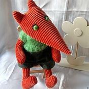 Куклы и игрушки ручной работы. Ярмарка Мастеров - ручная работа Лисёнок Лешик. Handmade.
