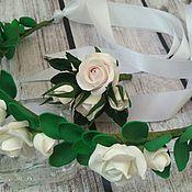 Бутоньерки ручной работы. Ярмарка Мастеров - ручная работа Бутоньерка для жениха Розы, бутоньерка на свадьбу. Handmade.