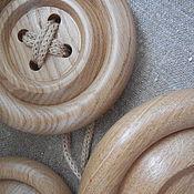 Для дома и интерьера ручной работы. Ярмарка Мастеров - ручная работа Пуговицы декоративные, интерьерные. Handmade.