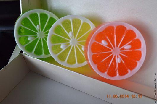 """Мыло ручной работы. Ярмарка Мастеров - ручная работа. Купить Мыло ручной работы """"Апельсинка"""". Handmade. Мыло ручной работы"""