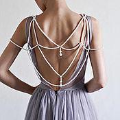 Платья ручной работы. Ярмарка Мастеров - ручная работа Свадебное платье в стиле бохо. Handmade.