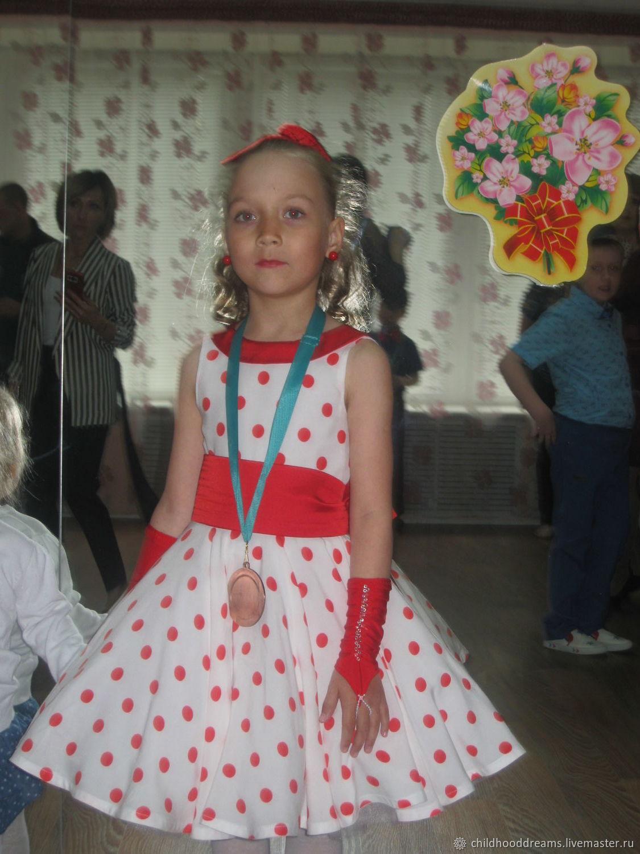 """Детское платье """"Стиляга"""""""