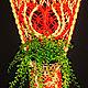 Интерьерные композиции ручной работы. Заказать Подвесное кашпо Сердечко. 'Макраме Без Границ'. Ярмарка Мастеров. Корзиночка, винтажный стиль