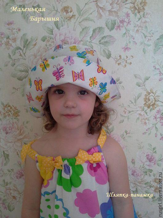 Шапки и шарфы ручной работы. Ярмарка Мастеров - ручная работа. Купить Шляпка панамка. Handmade. Белый, нежная, шляпка