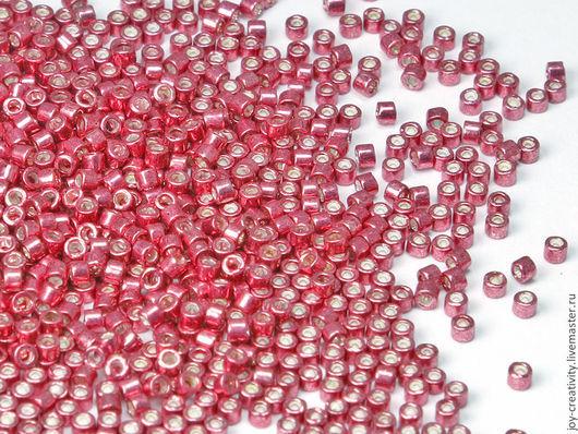 Для украшений ручной работы. Ярмарка Мастеров - ручная работа. Купить Бисер Delica 11/0 DB428 strawberry Miyuki 5 гр. Handmade.