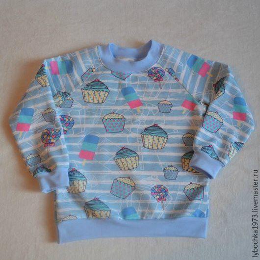 Одежда для девочек, ручной работы. Ярмарка Мастеров - ручная работа. Купить свитшот  для девочки. Handmade. Комбинированный, для девочки, одежда для детей