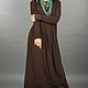 Платья ручной работы. Vacanze Romane-1006. deRvoed Lena. Интернет-магазин Ярмарка Мастеров. Трикотажное платье, длинное платье