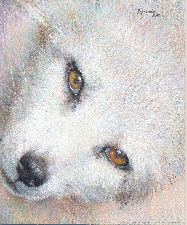 """Картина пастелью """"Взгляд"""",интерьерная картина, Картины, Санкт-Петербург,  Фото №1"""