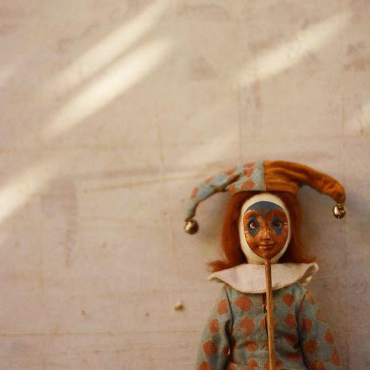 Коллекционные куклы ручной работы. Ярмарка Мастеров - ручная работа. Купить Фантеска. Handmade. Фарфор, васильковый, папье-маше