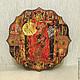"""Часы для дома ручной работы. Ярмарка Мастеров - ручная работа. Купить Часы  """"Африка"""" , часы настенные, африканские мотивы, Декупаж. Handmade."""