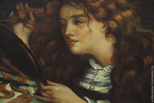 Люди, ручной работы. Ярмарка Мастеров - ручная работа. Купить Картина маслом «Бель-эпок» Посвящена светлой памяти супруге Люле. Handmade.