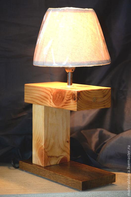 Освещение ручной работы. Ярмарка Мастеров - ручная работа. Купить Лампа-Подставка, основание. Handmade. Бежевый, уютная кухня, уютный
