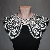 Аксессуары handmade. Livemaster - original item Lace collar LESOK Vyatka Vologda lace. Handmade.