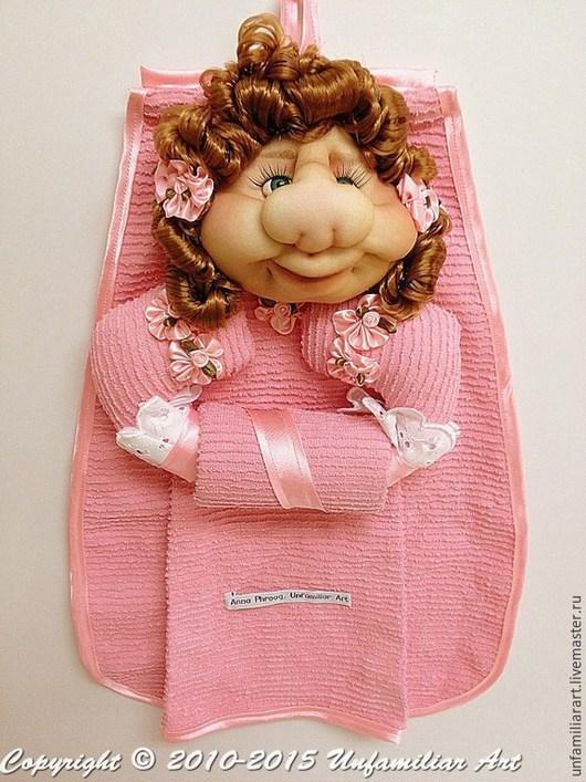 Кухня ручной работы. Ярмарка Мастеров - ручная работа. Купить Текстильная Кукла Держатель для Кухонных Полотенец -2. Handmade.