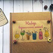 Gift Boxes handmade. Livemaster - original item Gift set Shot.. Handmade.