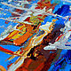 Order Painting with the sea 'Feast of the Sun' painting sea oil. Multicolor Gallery. Livemaster. . Pictures Фото №3