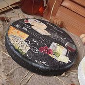 """Для дома и интерьера ручной работы. Ярмарка Мастеров - ручная работа """"Camembert"""" сырные доски. Handmade."""