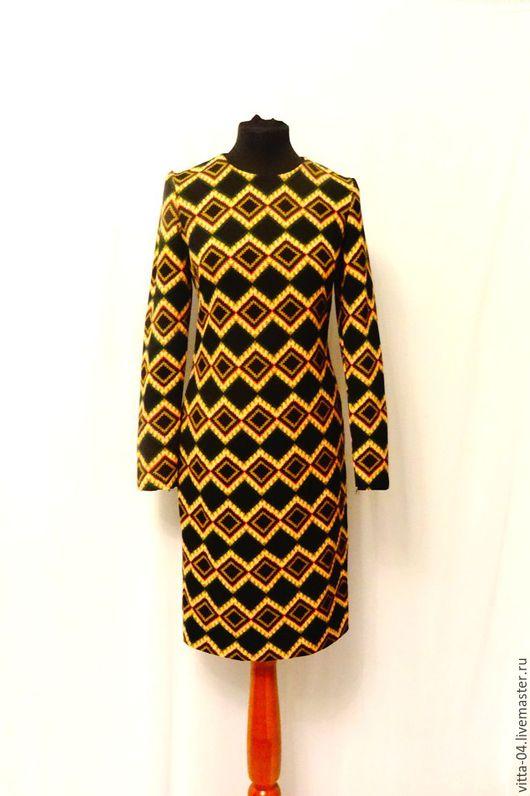 Платья ручной работы. Ярмарка Мастеров - ручная работа. Купить платье нарядное. Handmade. Комбинированный, платье, платье для женщины, джерси