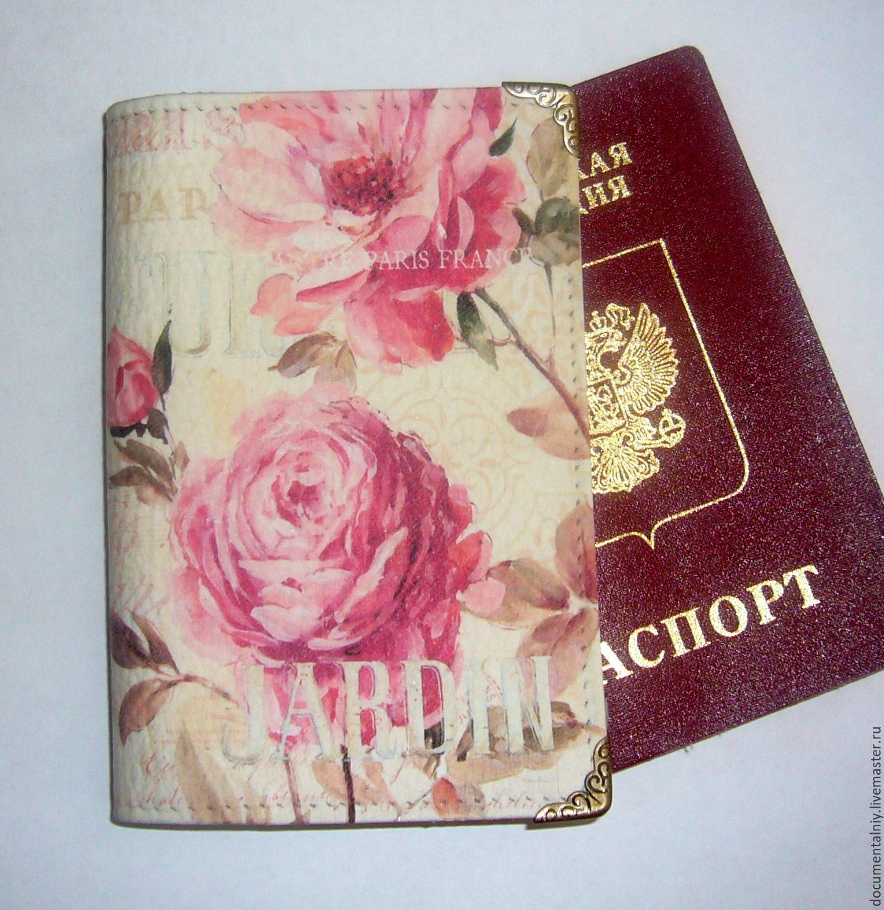 Passport cover or avtodokumentov, series 'Lisa Audit', Cover, Obninsk,  Фото №1