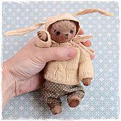 Куклы и игрушки ручной работы. Ярмарка Мастеров - ручная работа Мишка тедди Валентин. Handmade.