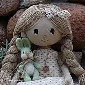 Куклы и игрушки ручной работы. Ярмарка Мастеров - ручная работа Юленька  текстильная кукла. Handmade.